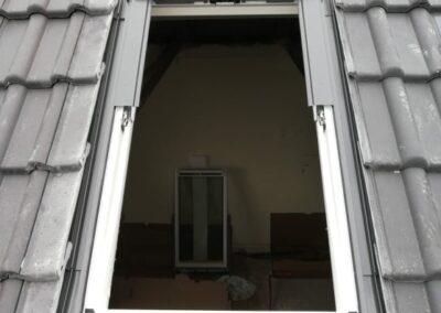 Montaža strešnih oken Kikani